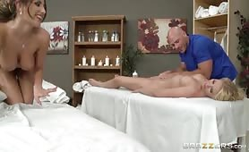 Lesbians Love Massages