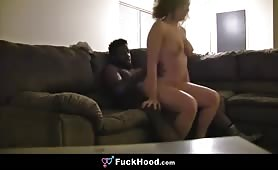 Big Titty Chubby  Cheater  Wife goes Crazy for big Black Cock